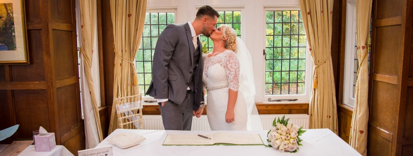 Andrea and Danny at Cantley House